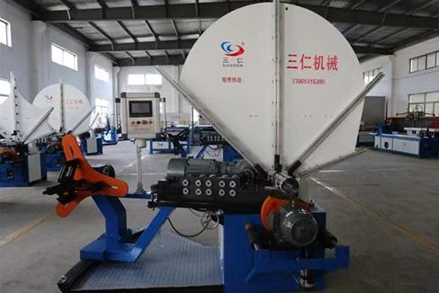 螺旋风管机械加工焊前准备