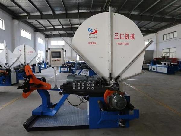 减少螺旋风管生产线生产中的材料浪费