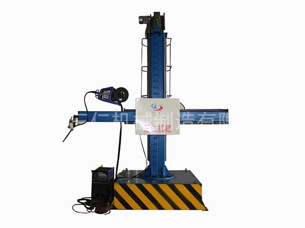 全自动螺旋风管机配套缝焊设备