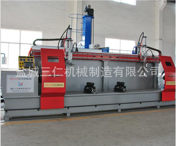 法兰螺旋管自动焊接设备SRHF-4100