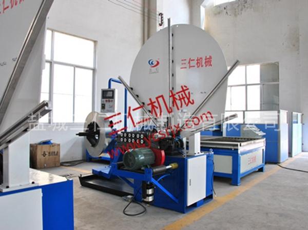 深圳全自动螺旋风管机3000A型