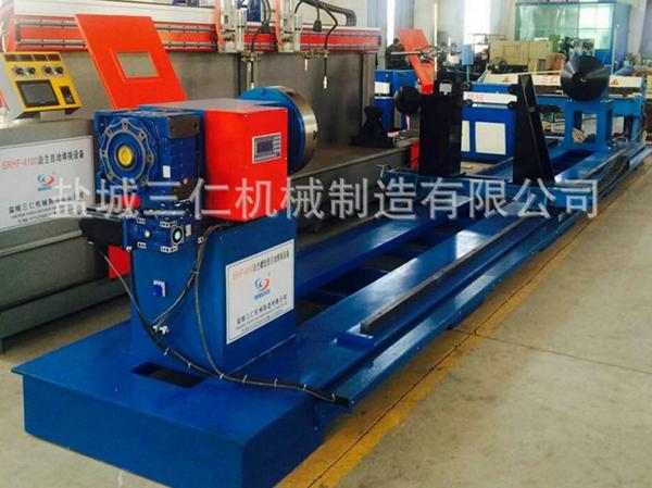法兰螺旋管自动焊接设备SRHF-6000