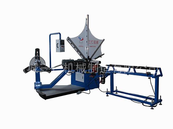 全自动螺旋风管机1500型