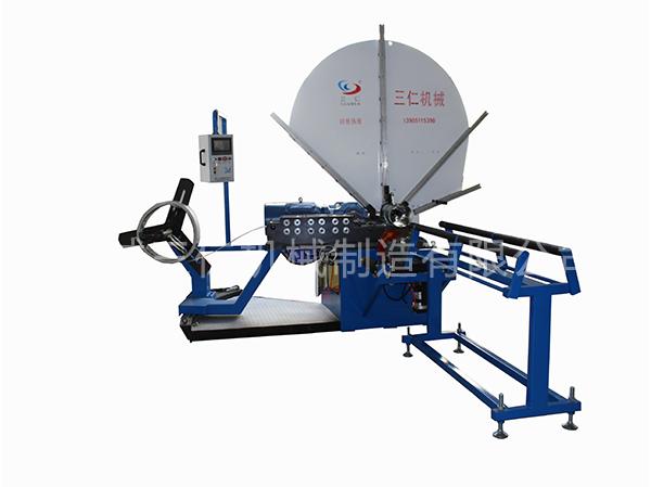 全自动螺旋风管机1500C型